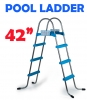 42 Inch Above Ground Swimming Pool Ladder - A Frame